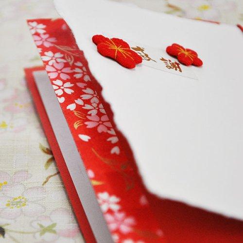 その他画像 ・ オプション1: 感謝【かんしゃ】結婚式招待状(印刷込み)