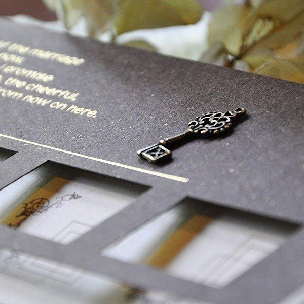 画像2: ビアール 結婚式招待状(印刷込み)