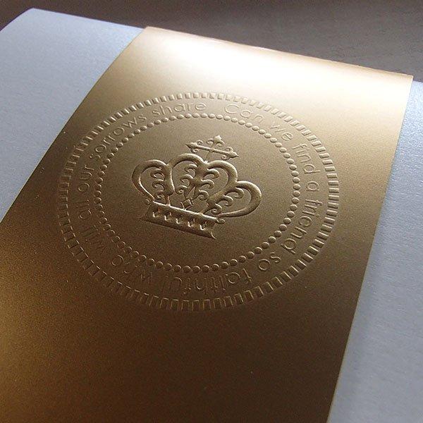 画像4: パールグラス 結婚式招待状(印刷込み)