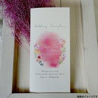 ジョリィ・プティピンク 結婚式席次表B4(両面印刷込み)