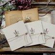 画像3: サラ 結婚式招待状(印刷込み) (3)
