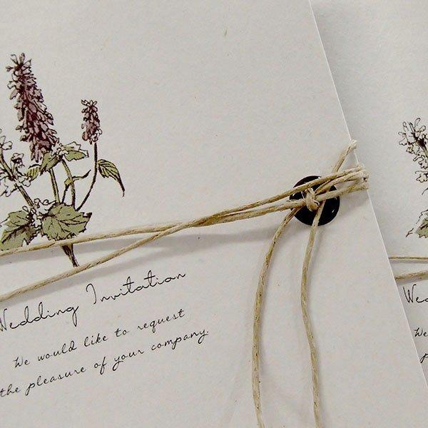 画像2: サラ 結婚式招待状(印刷込み)