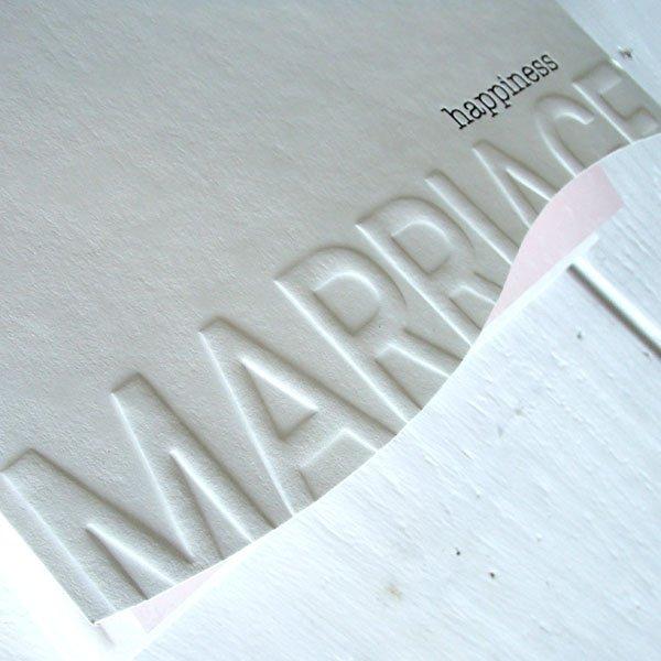 画像2: アベニール 結婚式招待状(印刷込み)