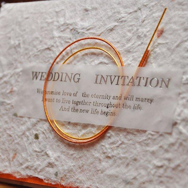 画像3: ジャパニーズモダン 結婚式招待状