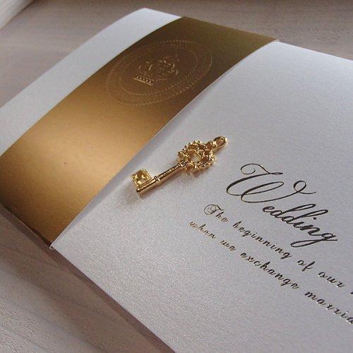 その他画像 ・ オプション1: パールグラス 結婚式招待状(印刷込み)