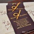 画像5: エレガント 結婚式招待状(印刷込み) (5)