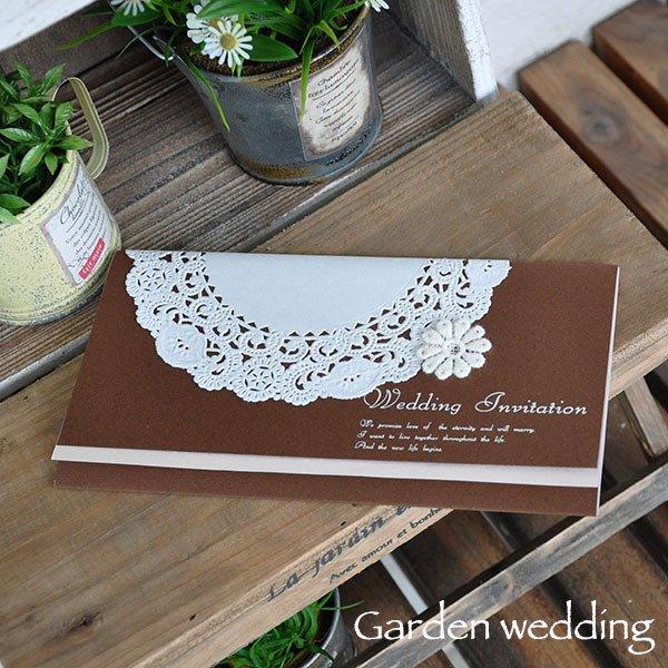 画像3: ティアラ・ブラウン 結婚式招待状