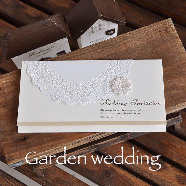 画像5: ティアラ・アイボリー 結婚式招待状