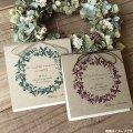コンコード 結婚式招待状(印刷込み)