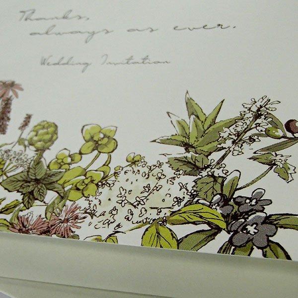 画像2: ナチュール 結婚式招待状