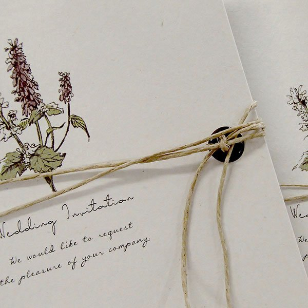 画像2: サラ 結婚式招待状