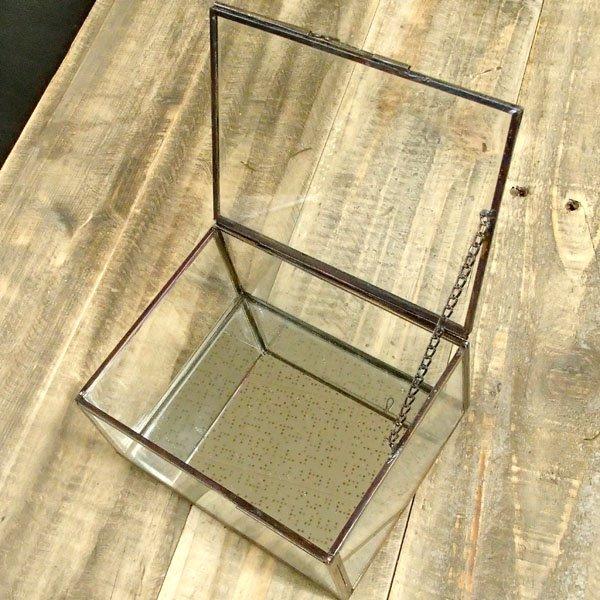 画像2: アンティークボックス ガラスLタイプ